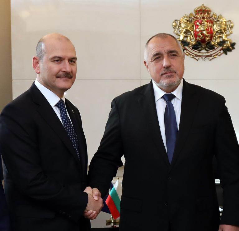 Министър-председателят Бойко Борисов се срещна с министъра на вътрешните работи на Турция Сюлейман Сойлу